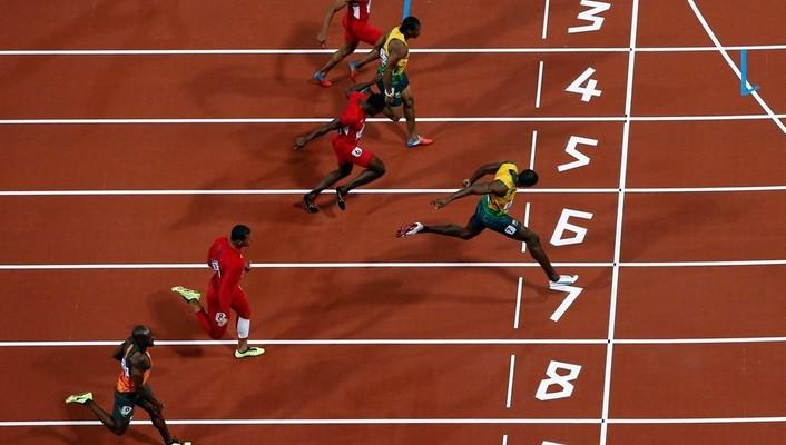 Leichtathletik Usain Bolt Olympischen Spiele 2012 wallpaper ...