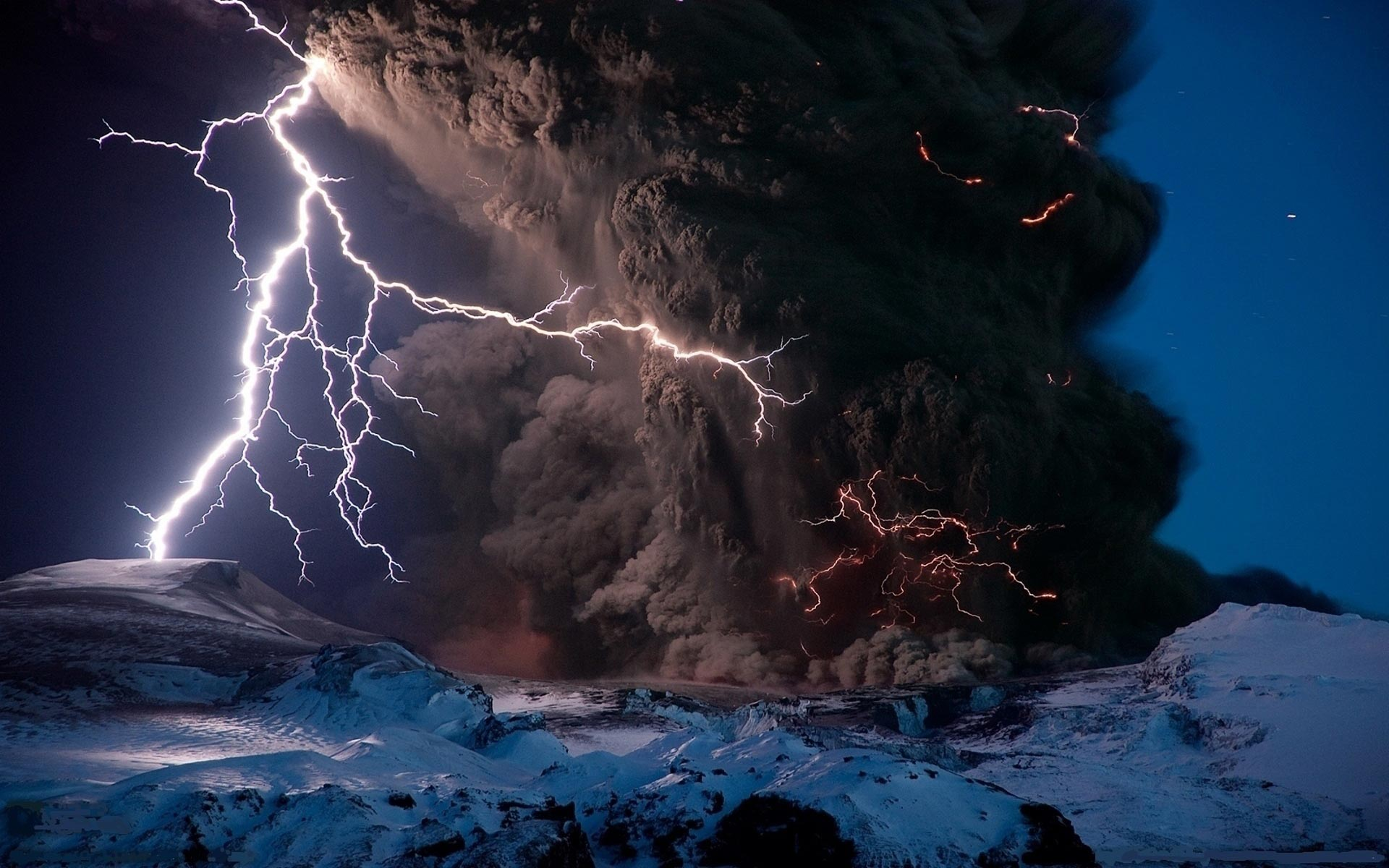 Home Phenomena Lightning Tornado with Lightning Wallpaper 1920x1200