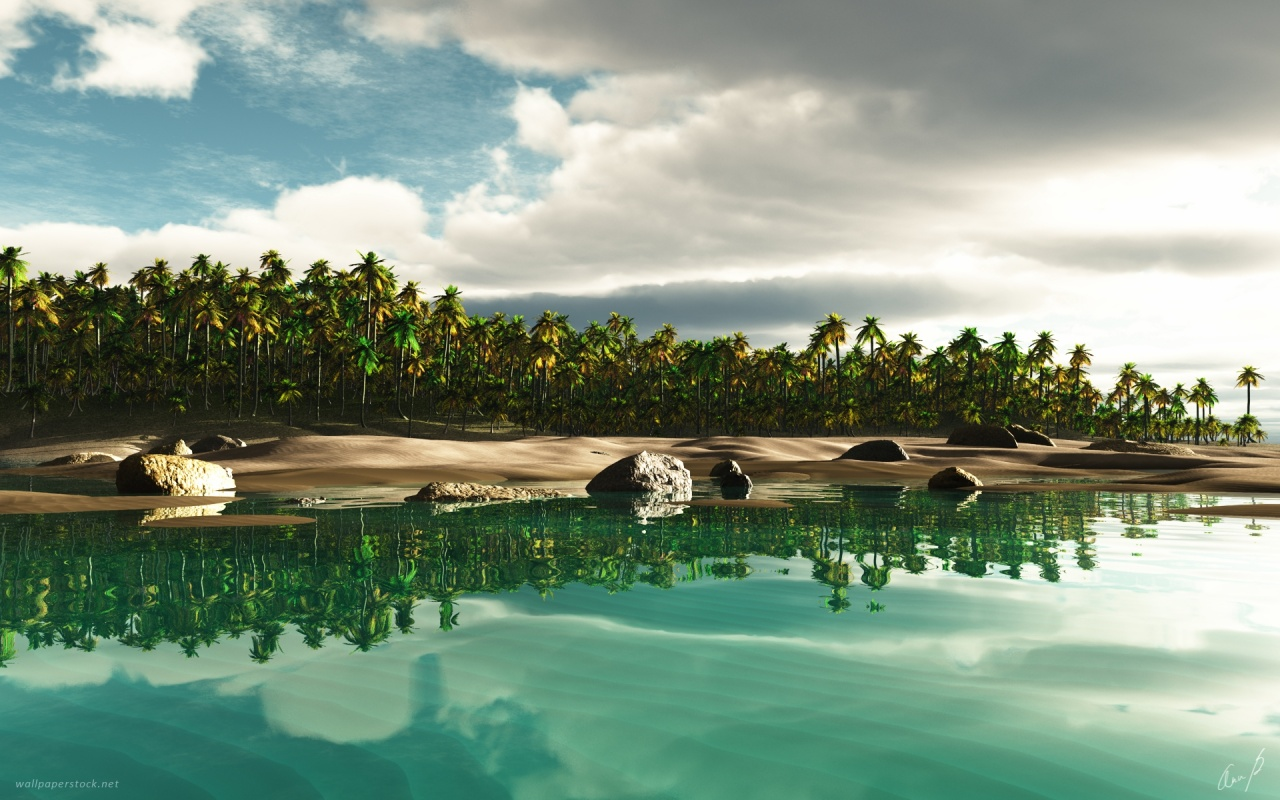 1280x800 Tropical Island 2 desktop PC and Mac wallpaper 1280x800