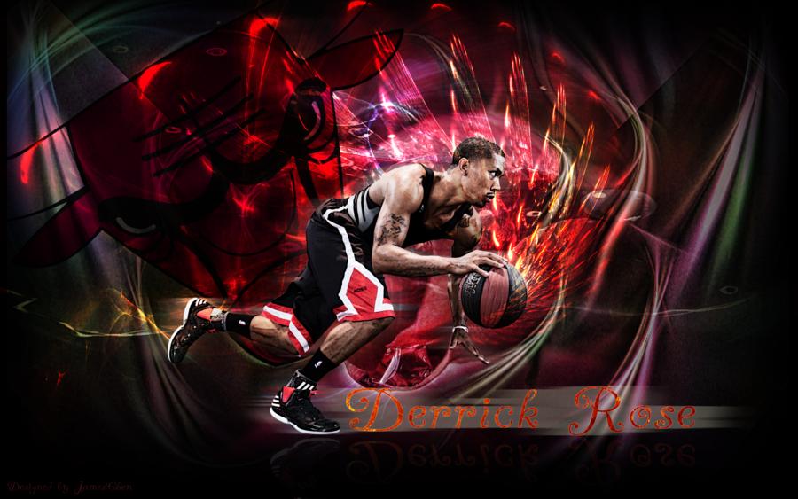 Derrick Rose Wallpaper by JamesChen 900x563