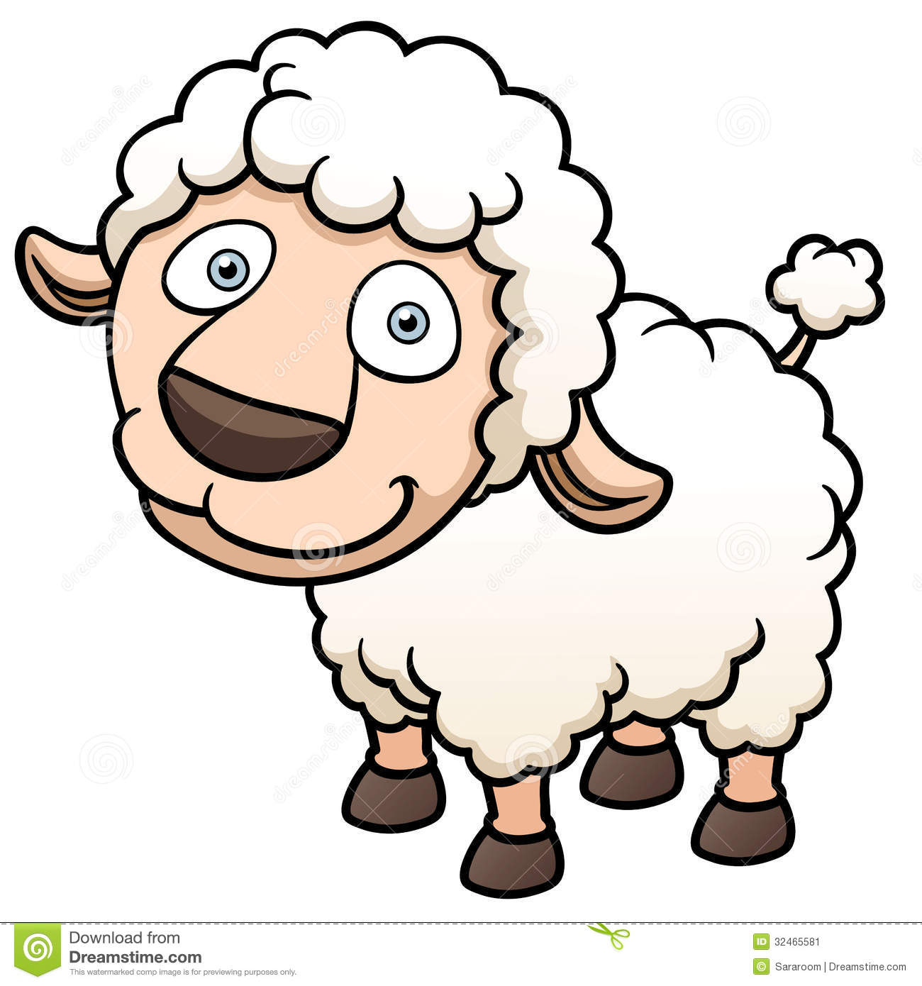 Free Download Sheep Cartoon Images 1300x1390 For Your Desktop