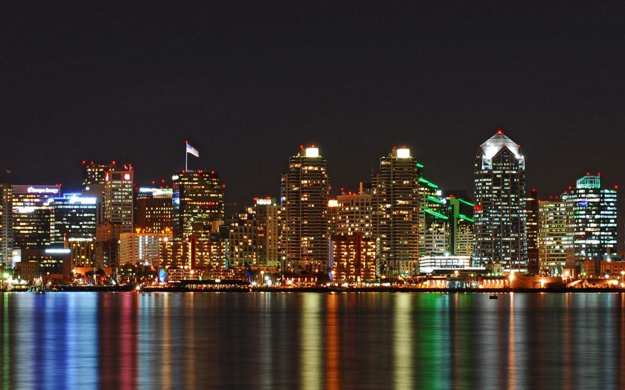 Best city   San Diego   City Skyline 1280x800 Wallpaper 1 1280x800
