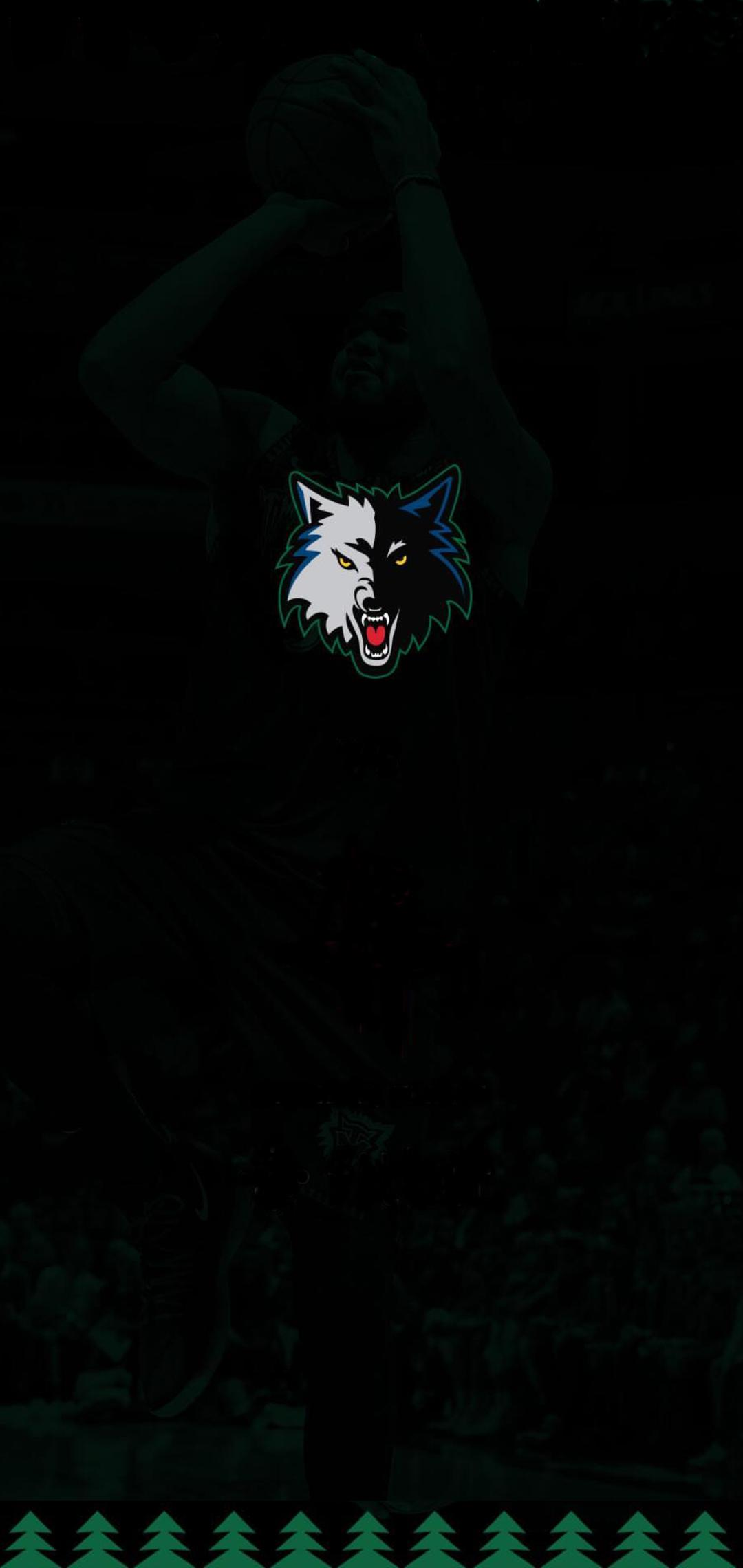 Made a mobile wallpaper out of an IG story from the wolves 1080x2280