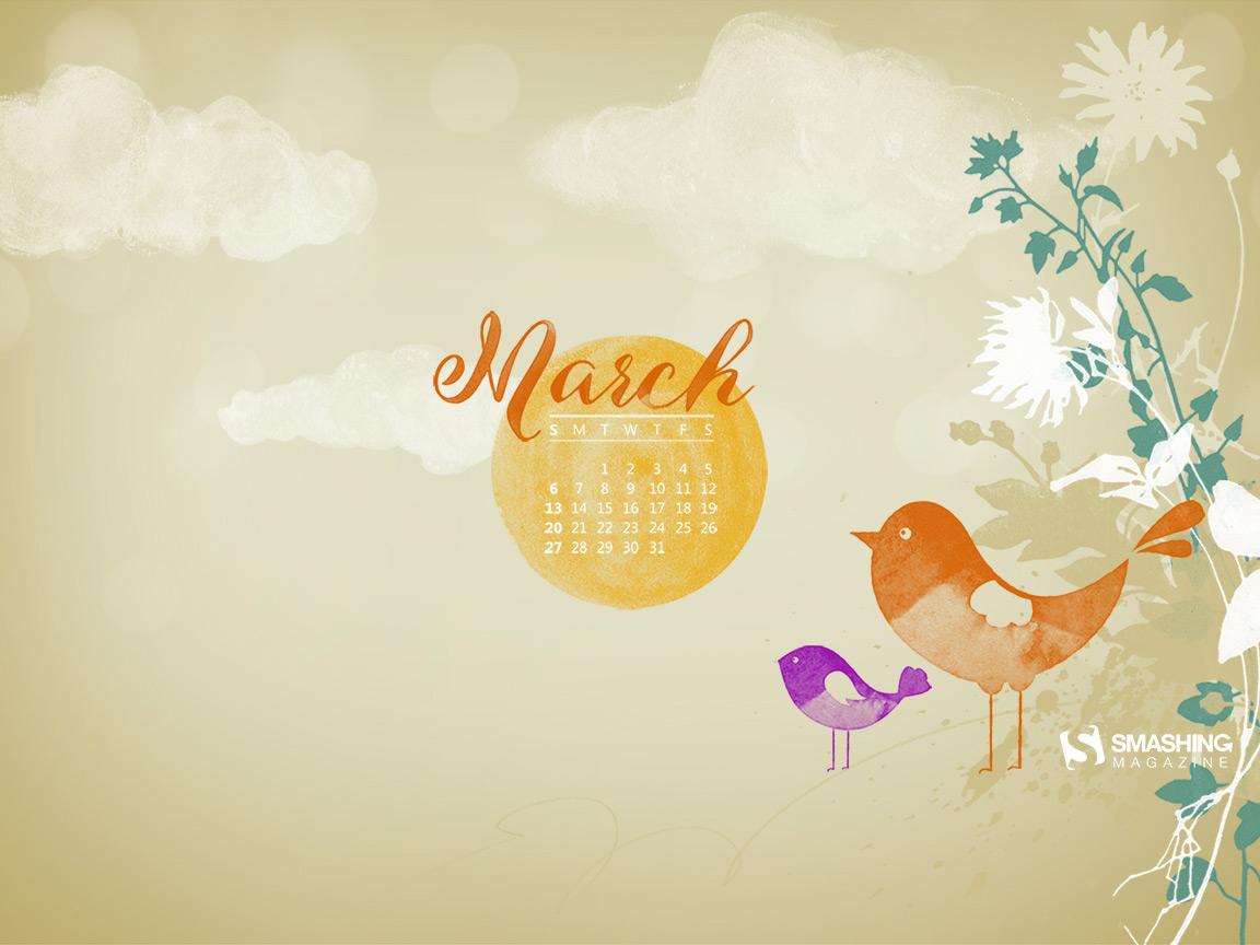 Desktop Wallpaper Calendars March 2016 Smashing Magazine 1152x864