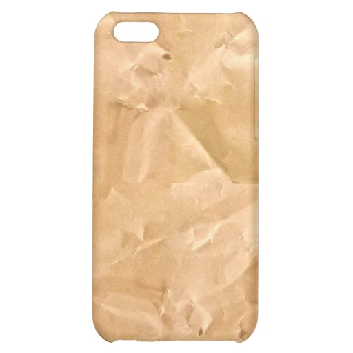 LIGHT BROWN PAPER BAG TEXTURE BACKGROUND WALLPAPER iPhone 5C CASES 512x512