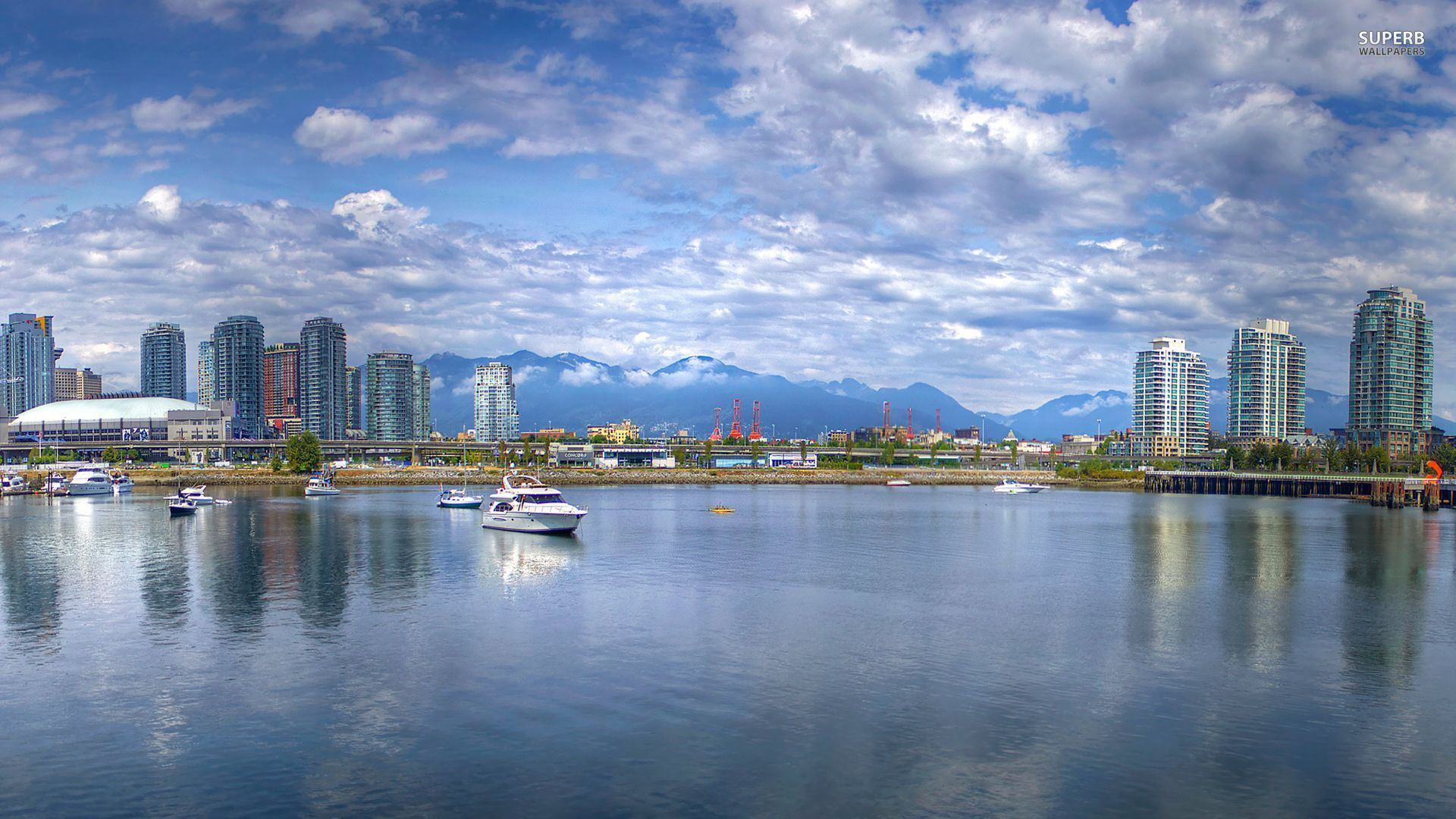 vancouver skyline wallpapers widescreen - photo #15