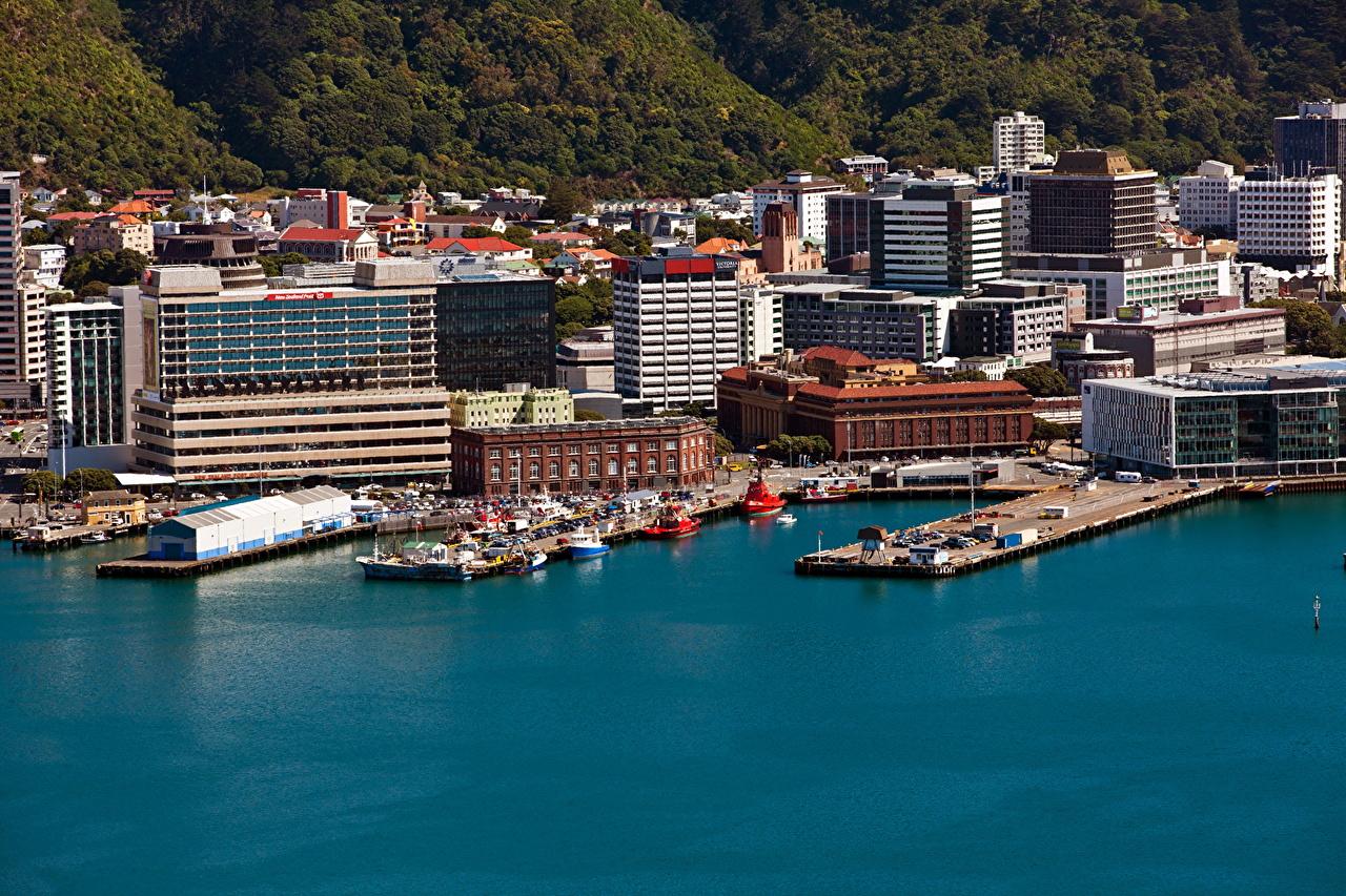 Photo New Zealand Wellington Berth Coast Cities 1280x853