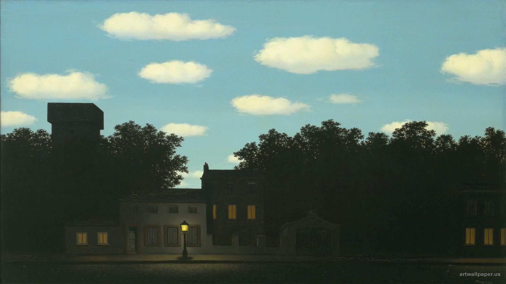 Magritte Wallpaper 1920x1080