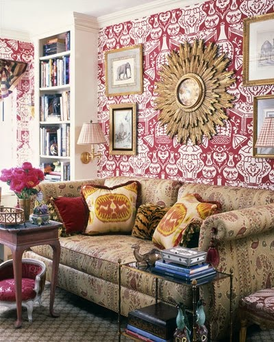 amazing Clarence House wallpaper   The Vase not so sure about the 400x500