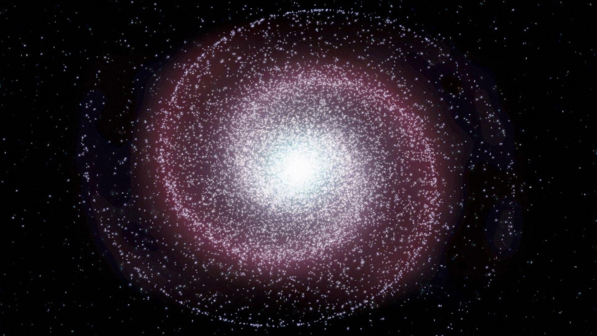 Spiral galaxy wallpaper 7427 1920x1080