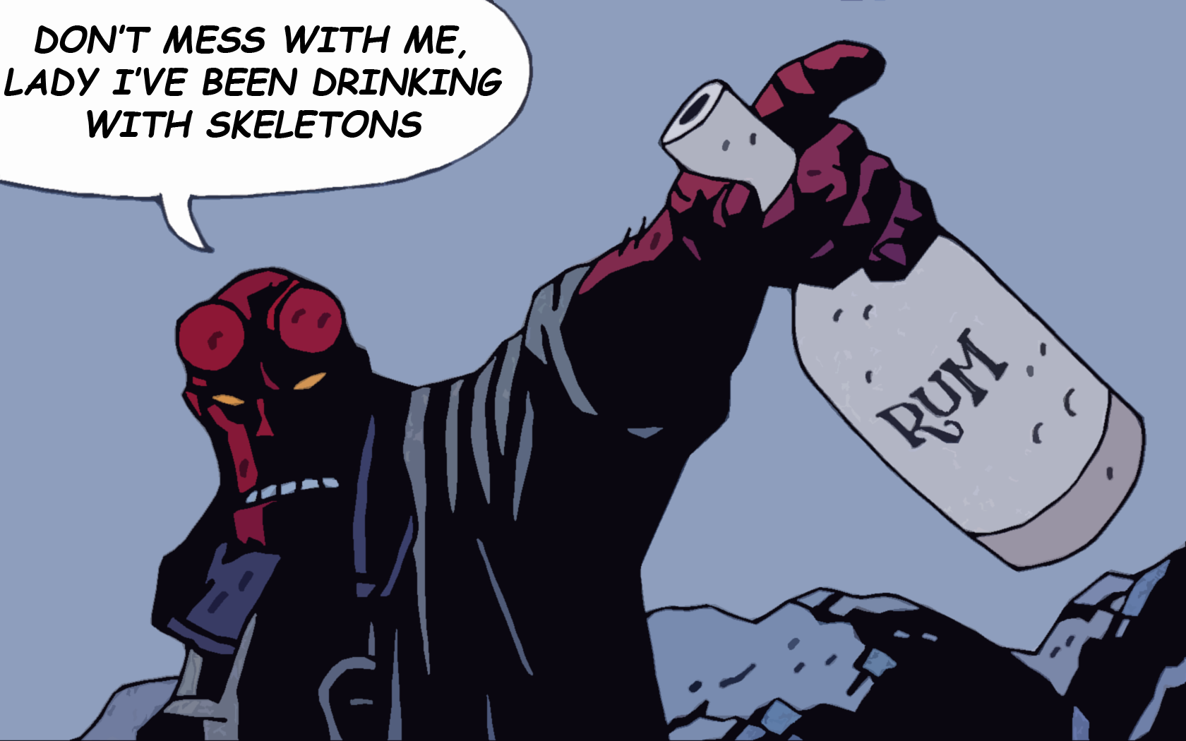 Wallpaper Abyss Explore the Collection Hellboy Comics Hellboy 214328 1680x1050
