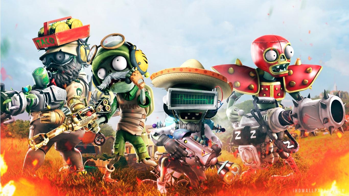 Plants vs. Zombies Garden Warfare 2 Wallpaper HD   Full HD