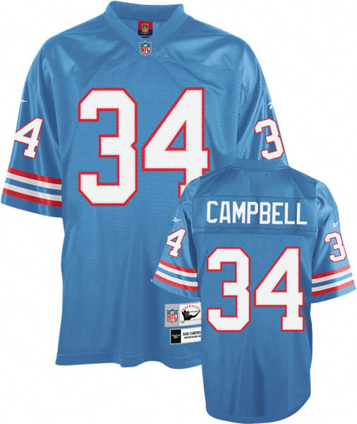 Pin Earl Campbell Houston Oilers Jersey 506x600
