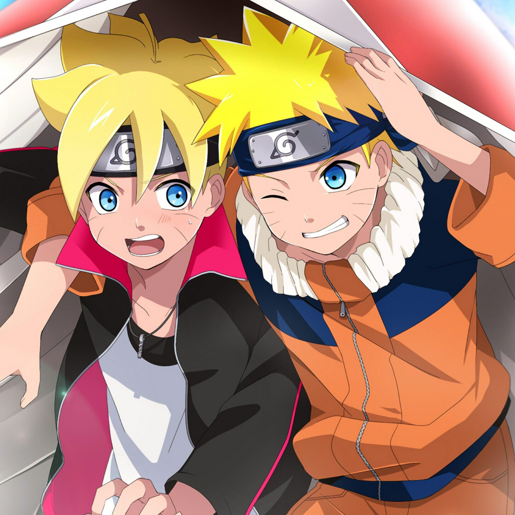 Boruto and Naruto Apple iPhone 7 hd wallpapers available for 2048x2048