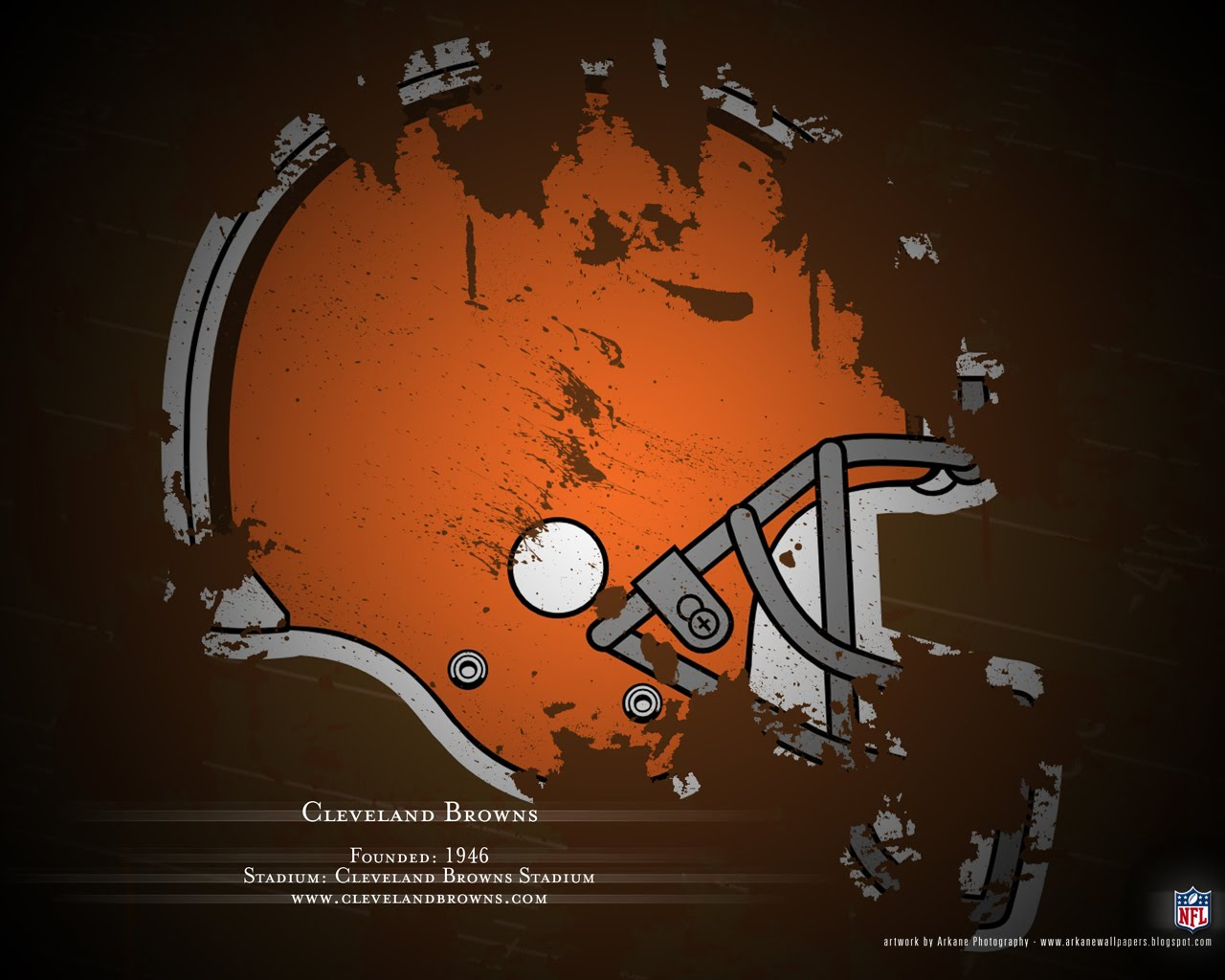 Arkane NFL Wallpapers Profile   Cleveland Browns 1280x1024