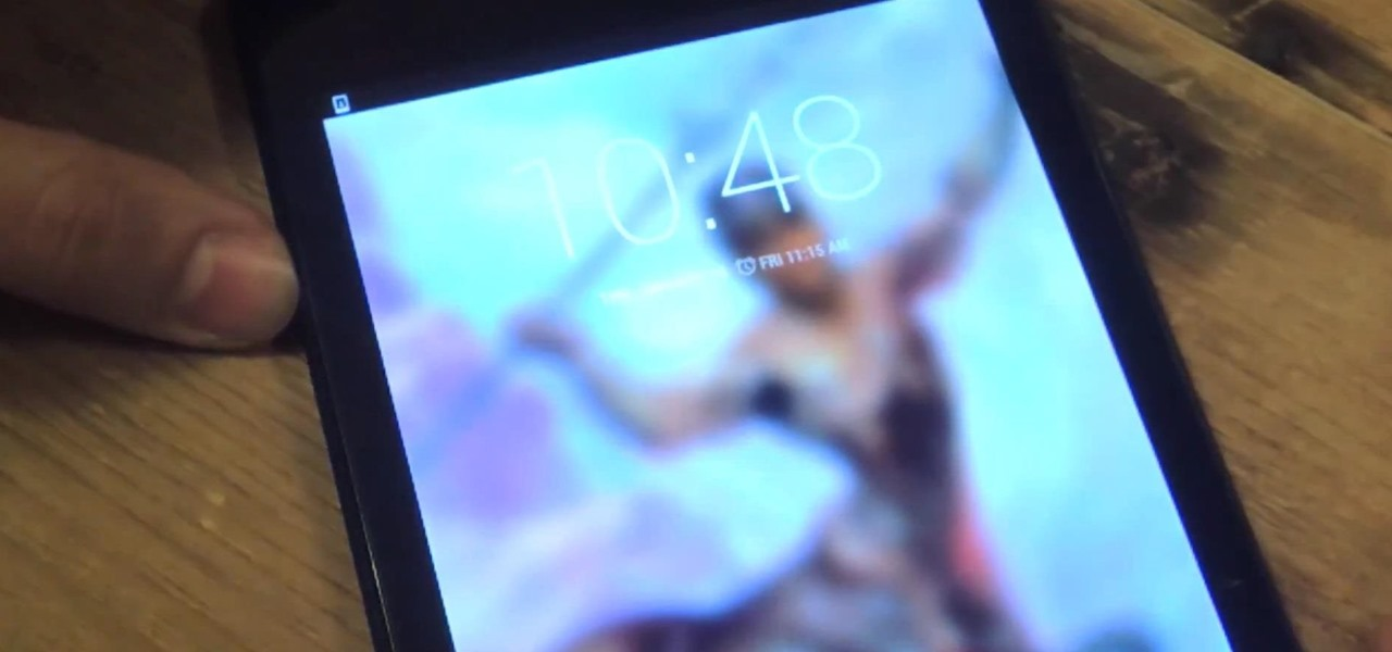 Tablet Lock Screen Wallpaper