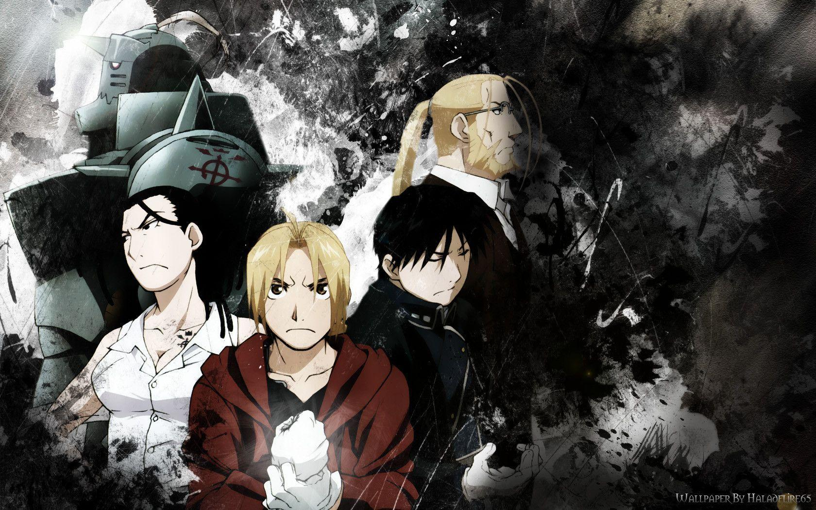 Fullmetal Alchemist Brotherhood Wallpapers 1680x1050