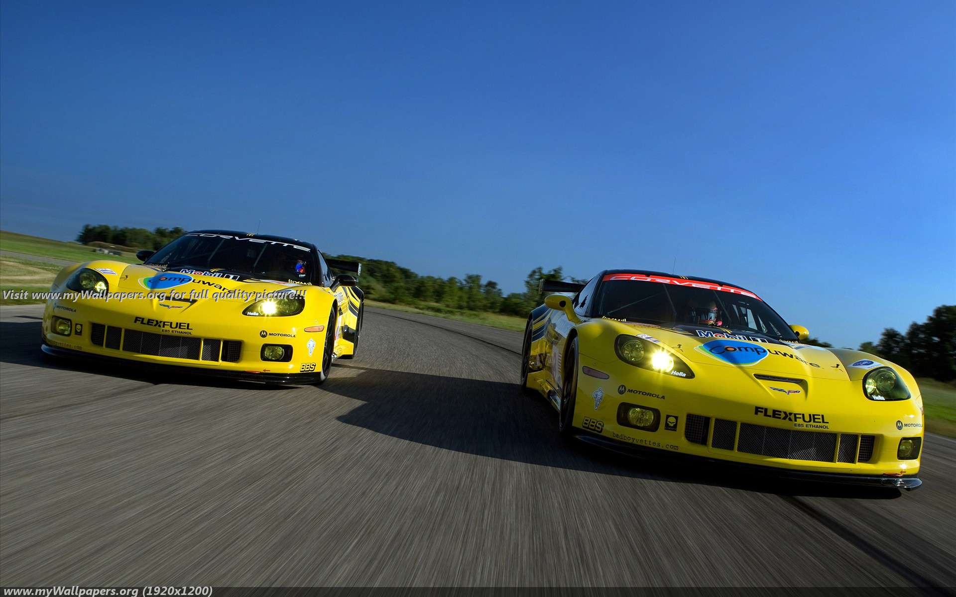 Corvette Racing   Next Generation C6R Wallpaper 36050 1920x1200