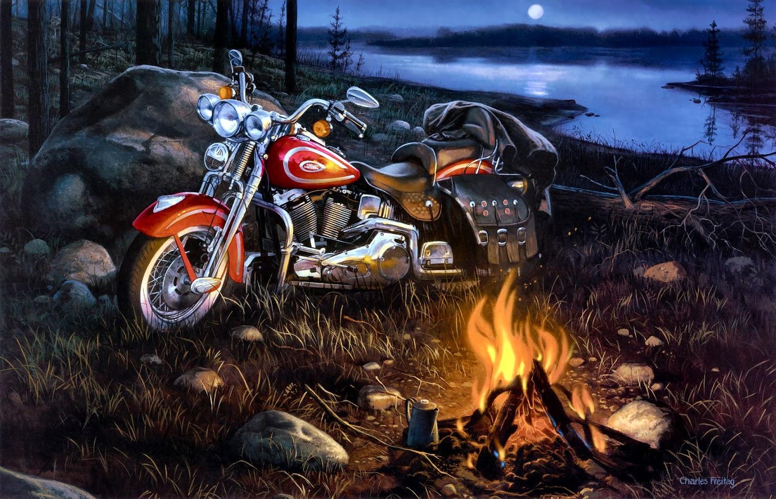 Harley Screensavers Wallpaper Wallpapersafari Davidson Desktop High Resolution Free