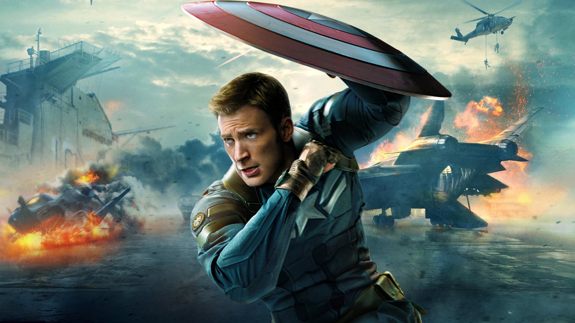 Captain america the winter soldier steve rogers chris evans marvel 1920x1080