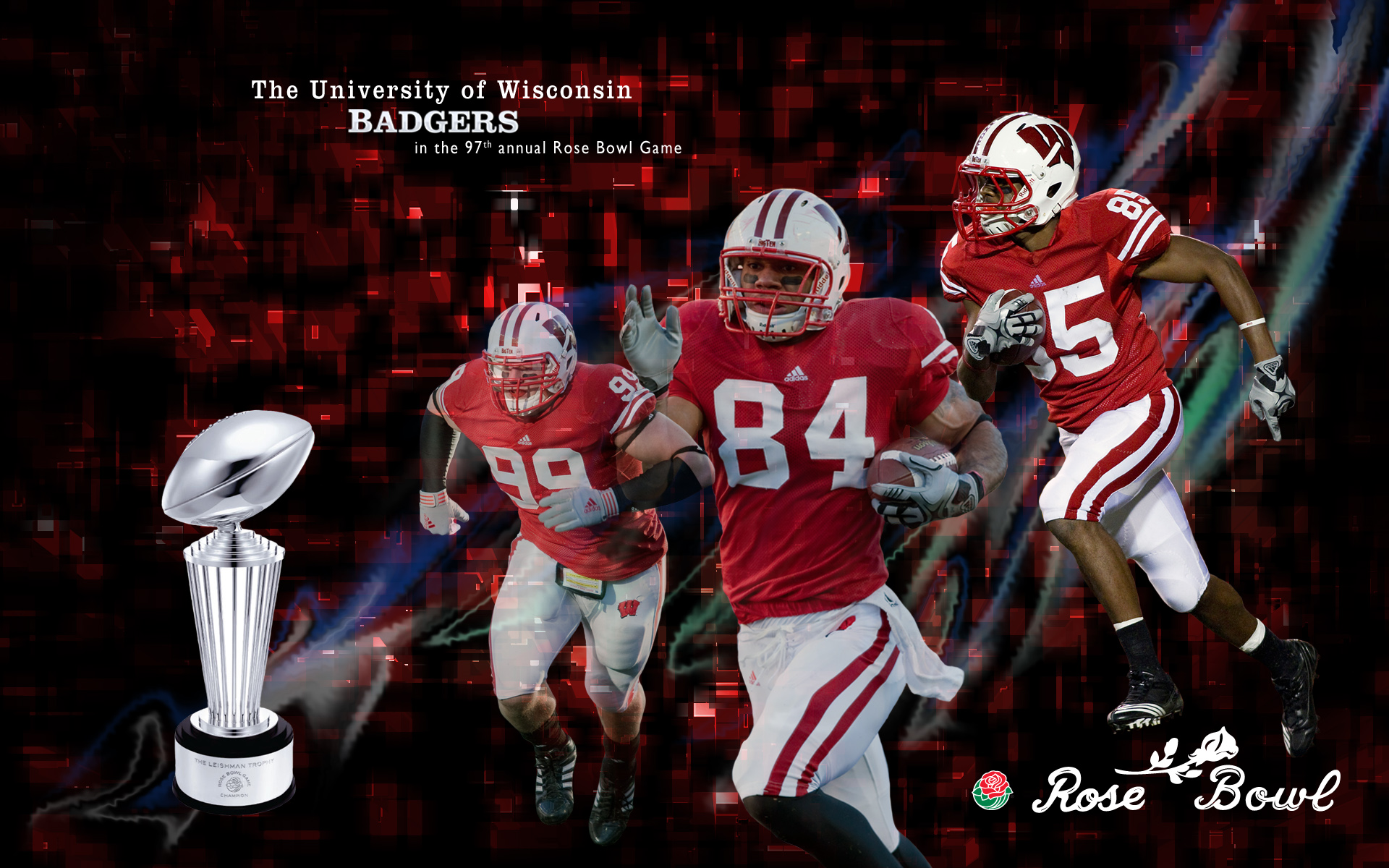 Wisconsin Badgers Desktop Wallpaper Rose bowl hd wallpaper 1920x1200
