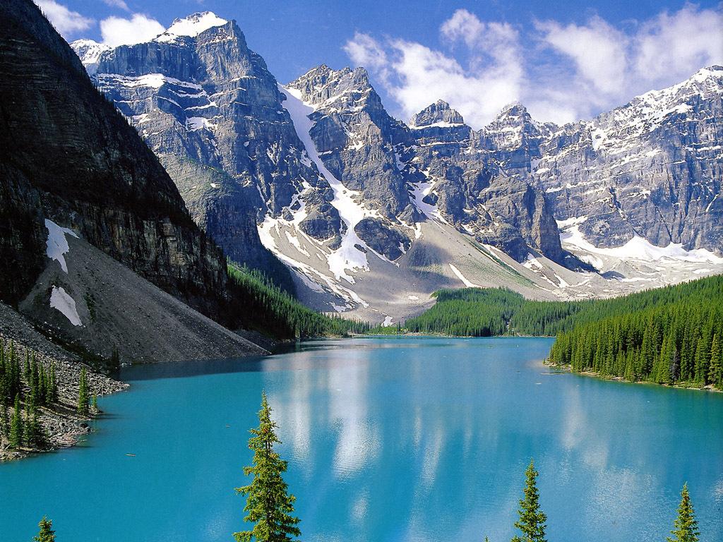 Moraine Lake   Canada Wallpaper 9727405 1024x768