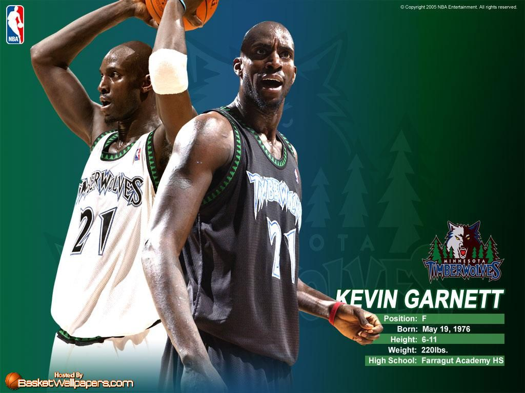 Kevin Garnett Wallpapers Basketball Wallpapers at 1024x768