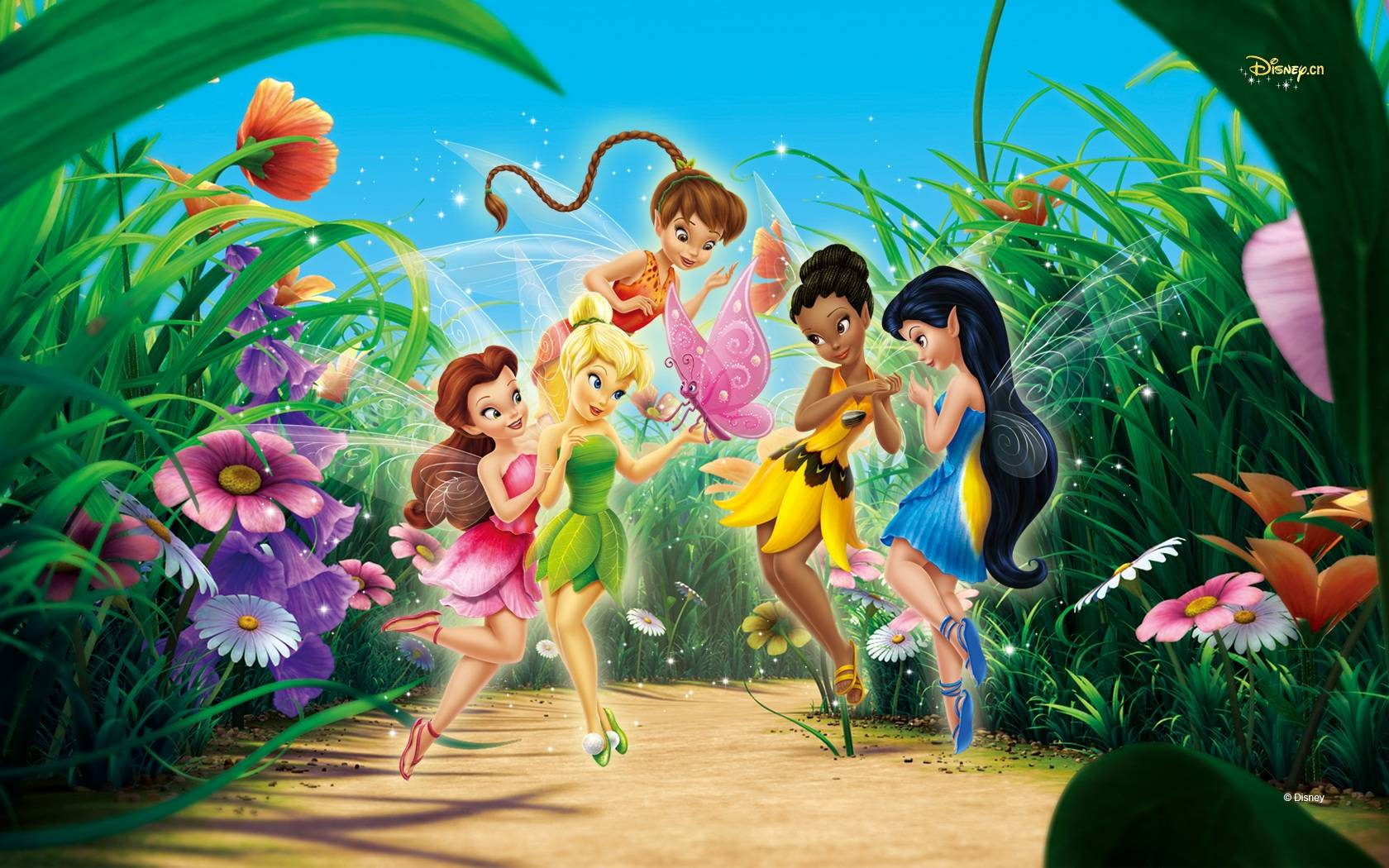 Tinkerbell Wallpaper   Disney Wallpaper 1680x1050