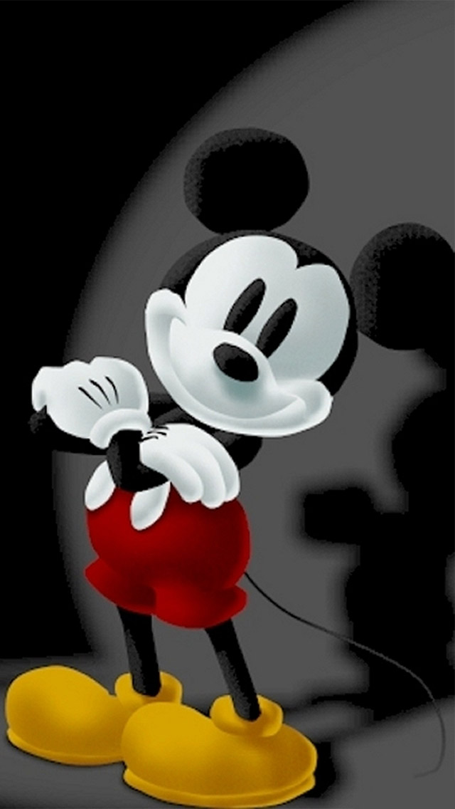 Mickey Mouse Wallpaper For Iphone Wallpapersafari