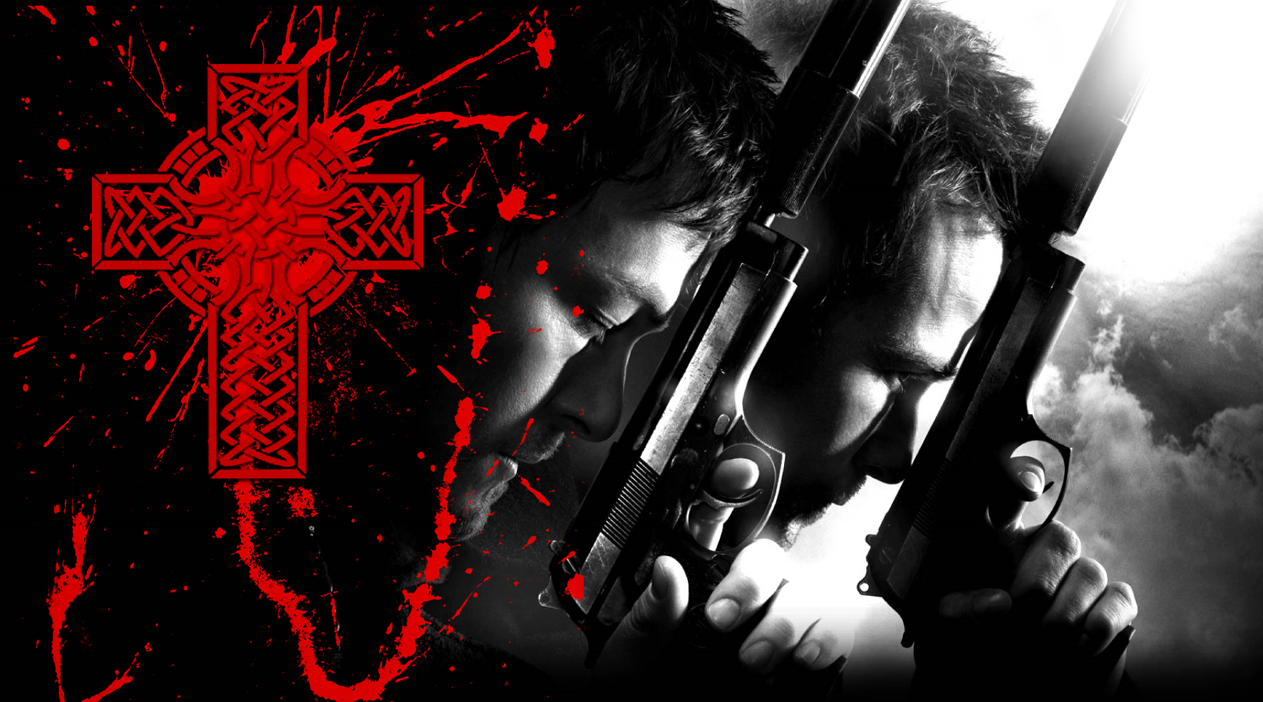 boondock saints wallpaper by jimeye fan art wallpaper movies tv 2009 1772x986