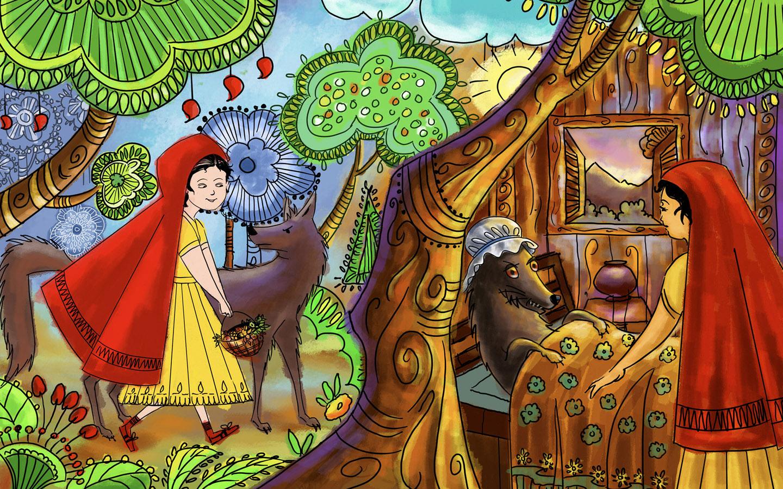 44 Fairy Tale Background Wallpaper On Wallpapersafari