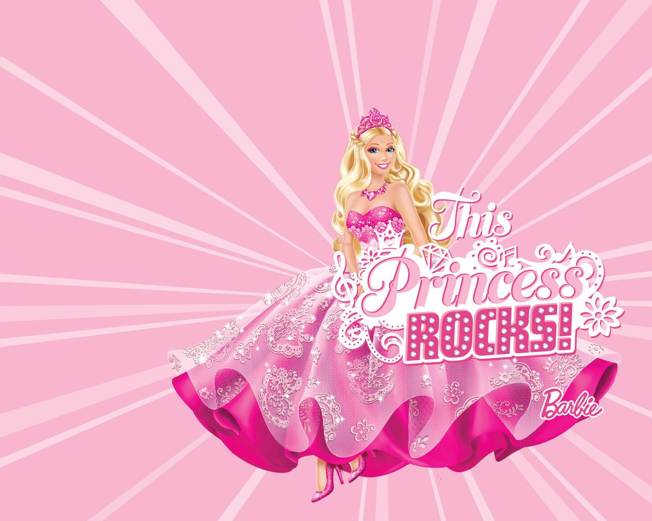 Princess Barbie Wallpaper Desktop Wallpaper WallpaperLepi 1280x1024