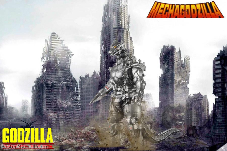 Godzilla Wars   Mecha Godzilla by SuperGodzilla 900x600