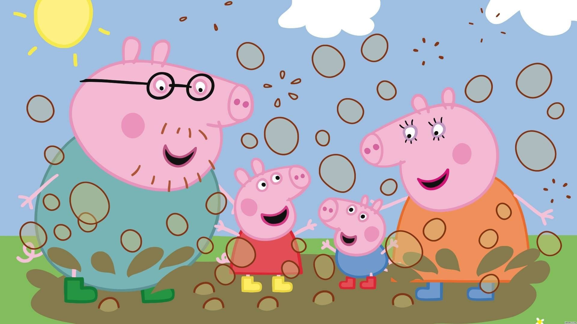Peppa Pig Wallpapers   Top Peppa Pig Backgrounds 1920x1080