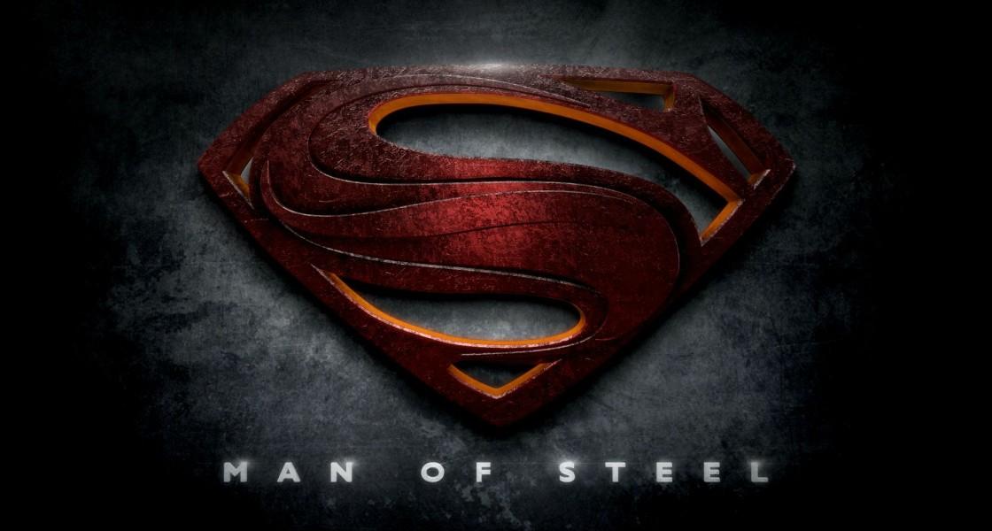 hd wallpaper superman man of steel logo wallpapers55com   Best 1120x600