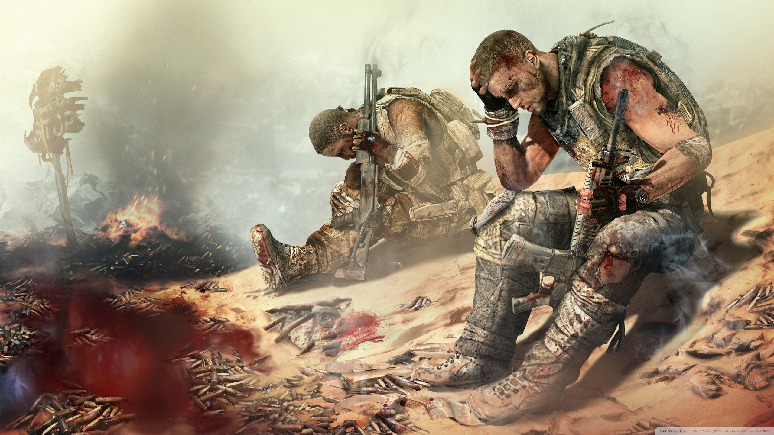 Spec Ops The Line HD Wallpaper 9   2560 X 1440 stmednet 2560x1440
