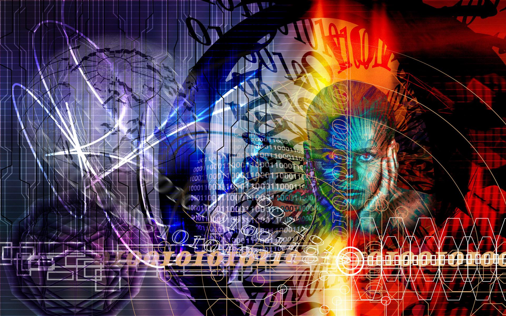 Alpha Coders Wallpaper Abyss Technologie Binary 88769 1920x1200
