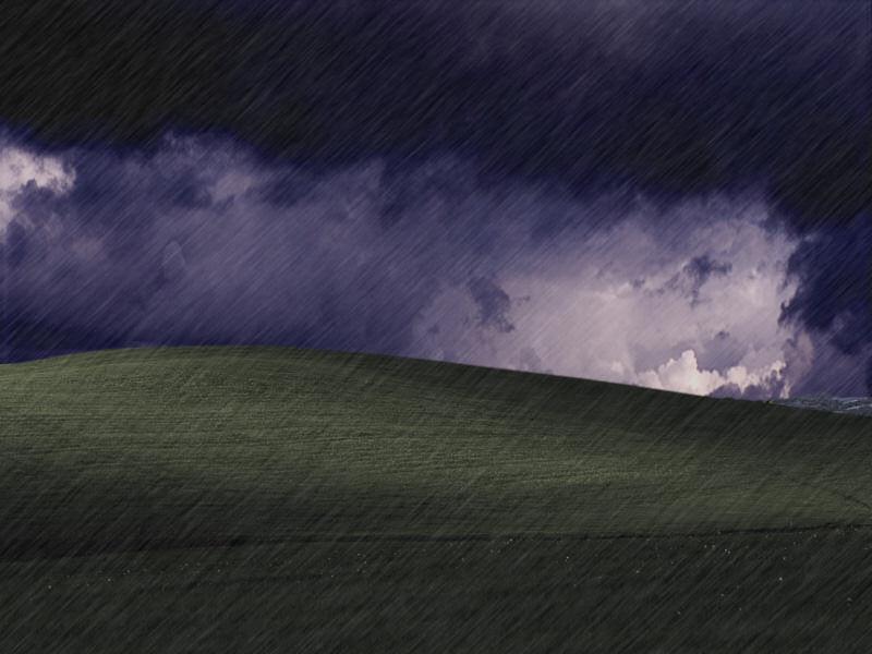 Rain Storm Desktop Wallpaper Wallpapersafari