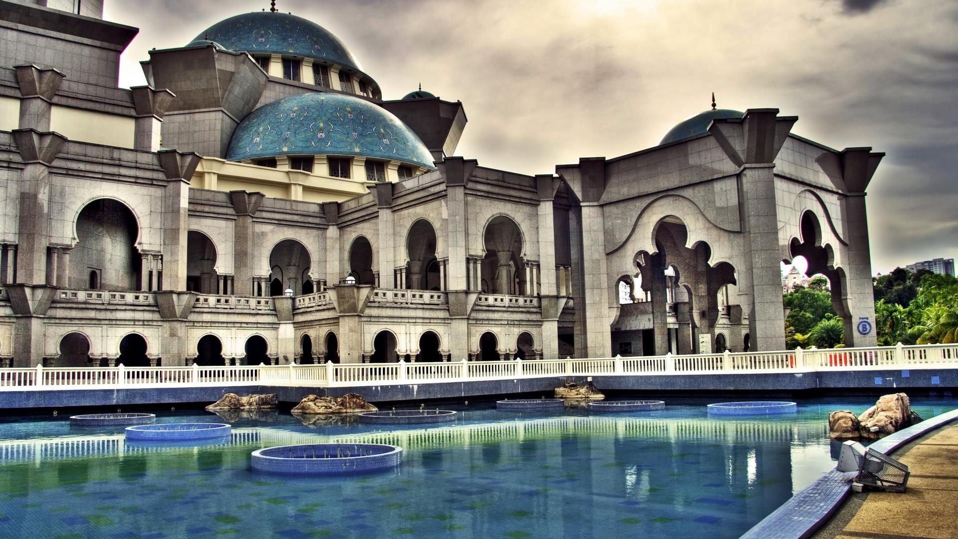 Beautiful Islamic Buildings Wallpapers: Full HD Islamic Wallpapers 1920x1080