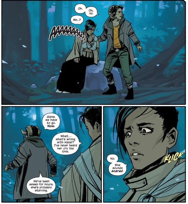 Saga Comic Wallpaper