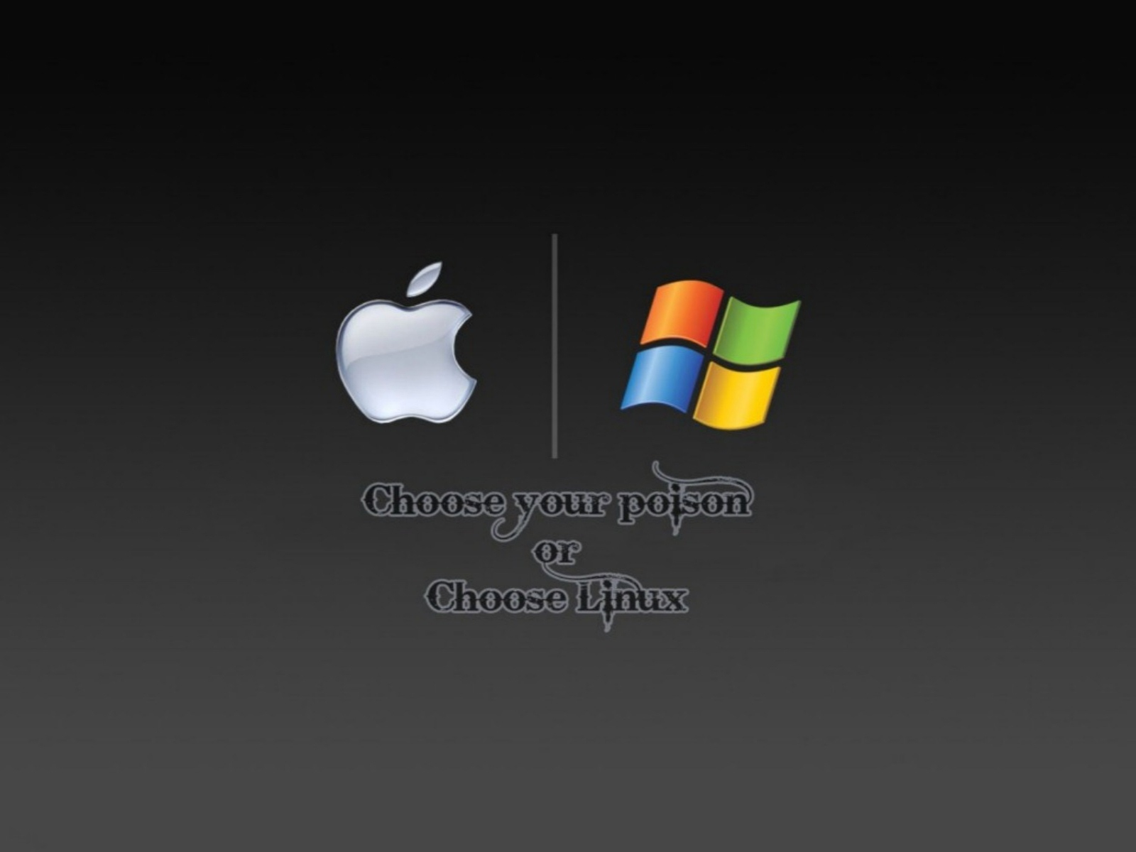 Linux vs Windows Download HD Wallpapers 1600x1200
