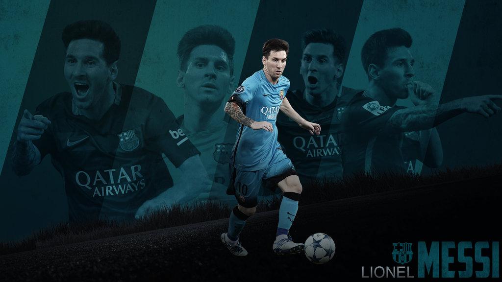 Lionel Messi 20152016 Wallpaper by RakaGFX 1024x576