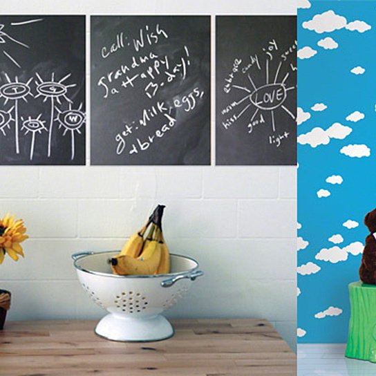 Buy Removable Wallpaper and Chalkboard Decals from Wall Candy Arts by 544x544