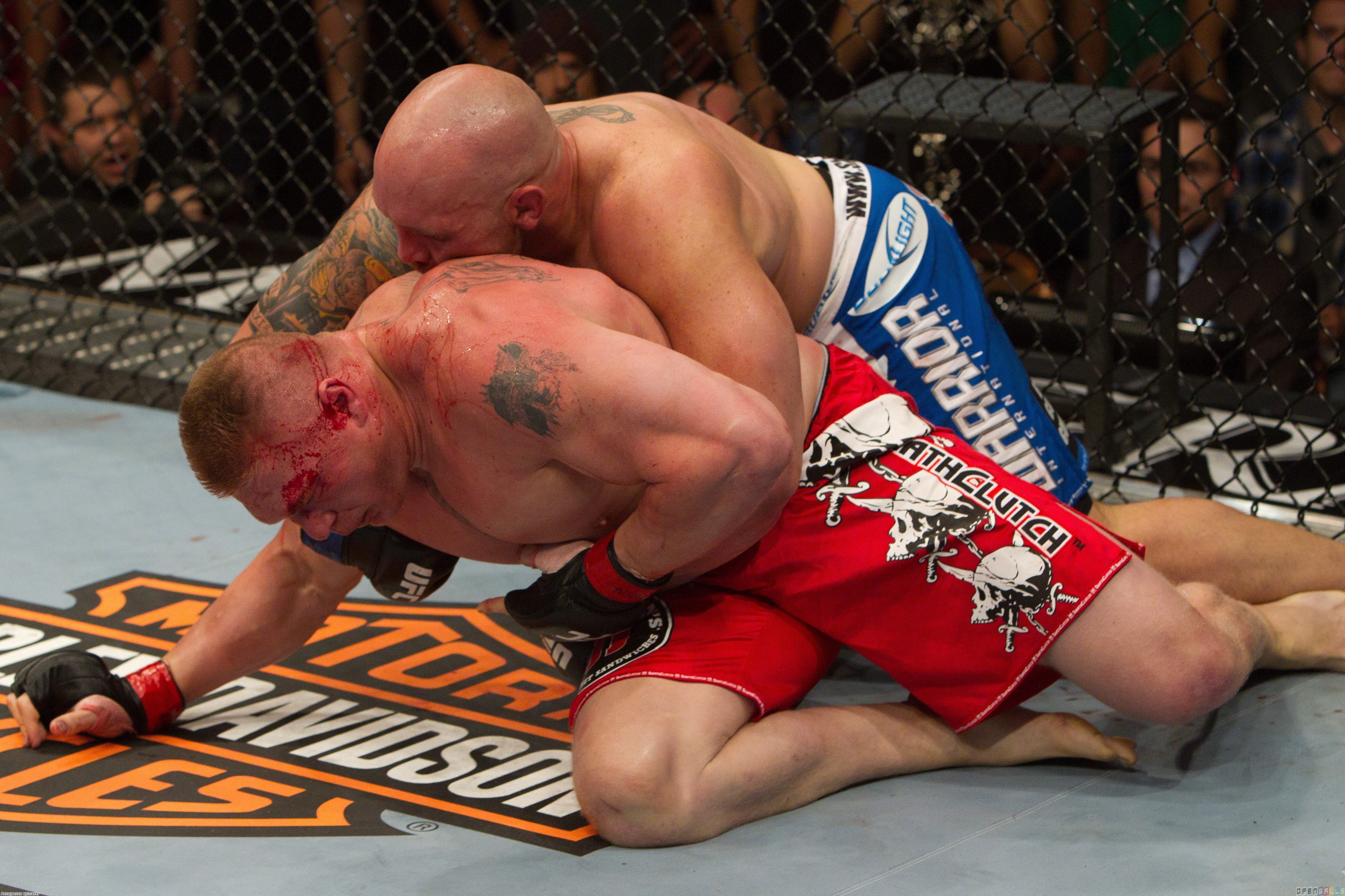 Ufc 116   brock lesnar vs shane carwin wallpaper 14816   Open Walls 4125x2750