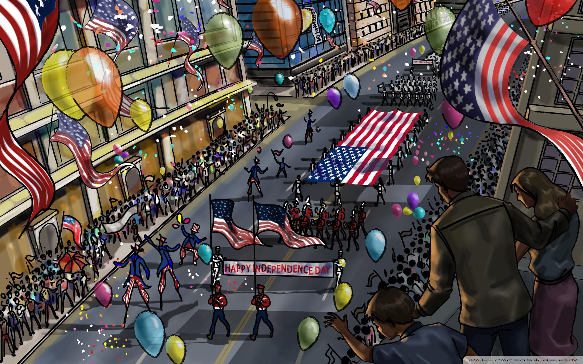 National Independence Day Parade 4K HD Desktop Wallpaper for 4K 1920x1200