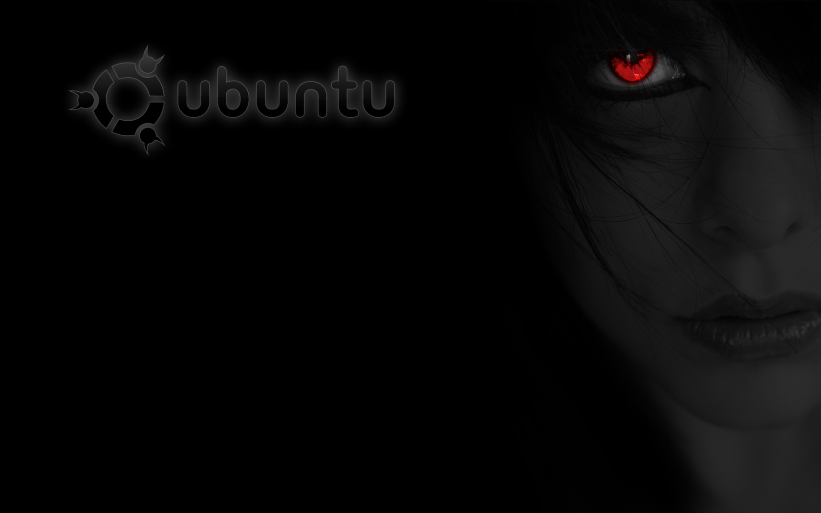 Free Download Dark Ubuntu Wallpaper 1680x1050 For Your Desktop