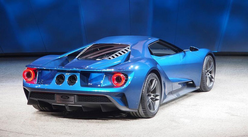 Ford GT 2016 the Blue Ovals new carbonfibre supercar is here 824x457