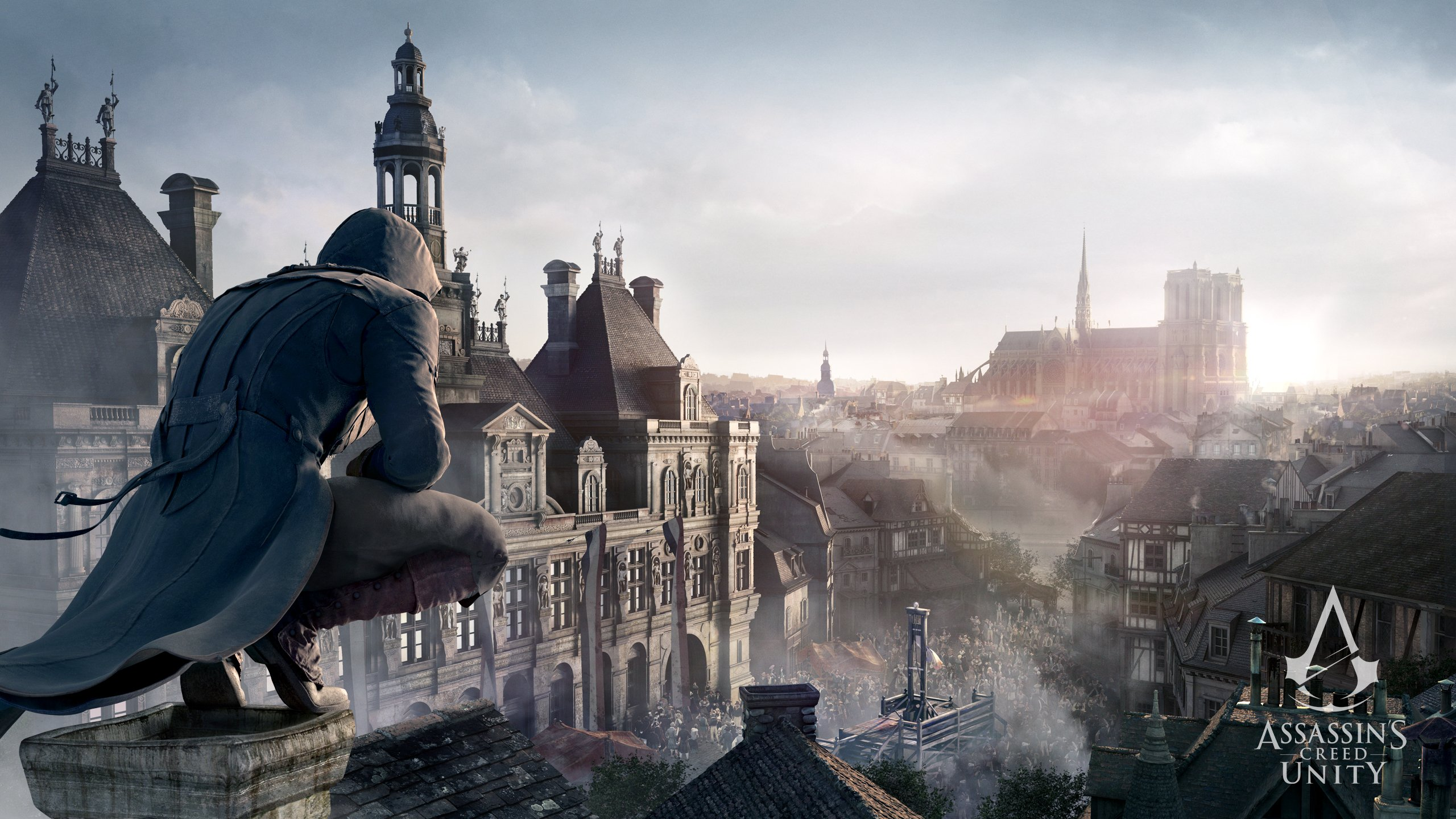 153 Assassins Creed Unity HD Wallpapers Backgrounds 2560x1440