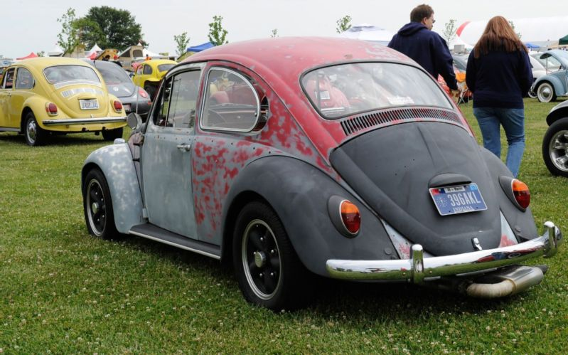 Funfest For Air Cooled Vw 2012 Unpainted Bug Photo 142 799x499