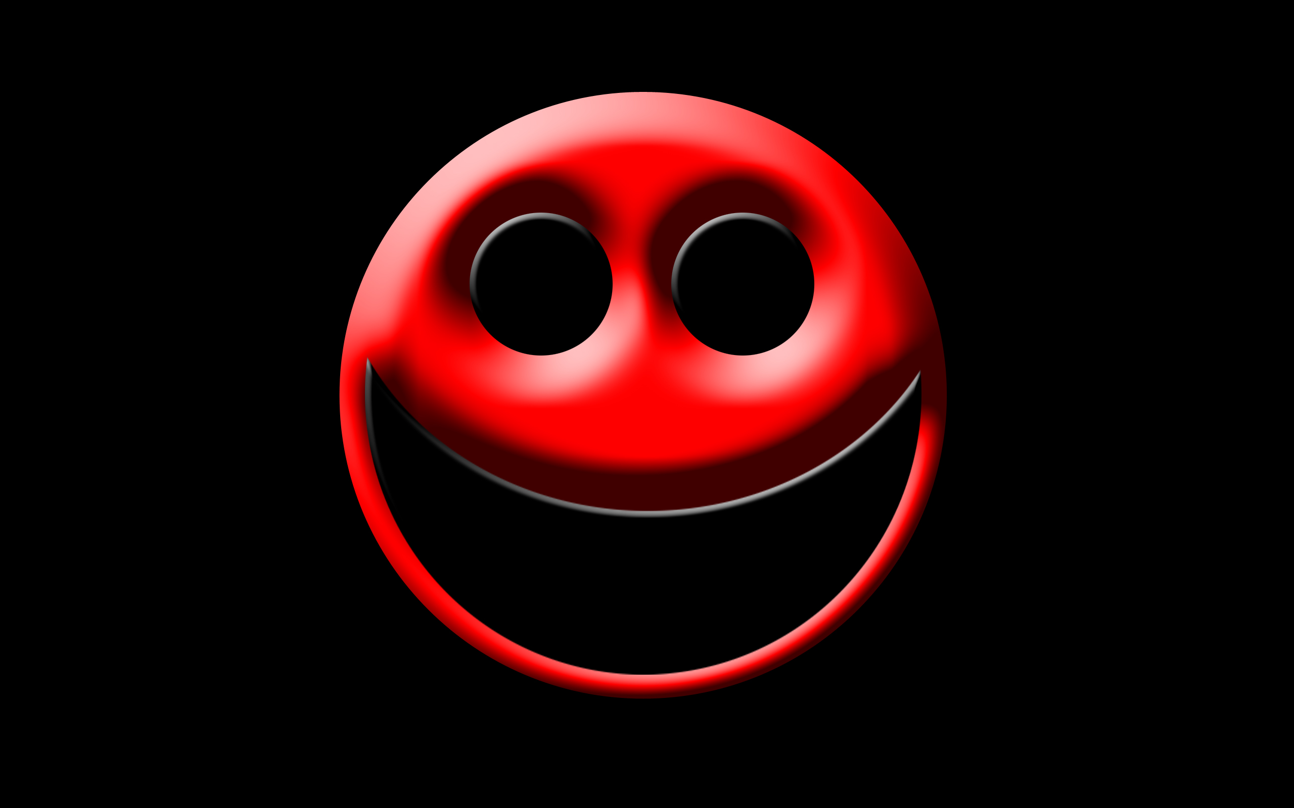 Wallpaper 24 Smiley Red and Black Wallpapers 2560x1600